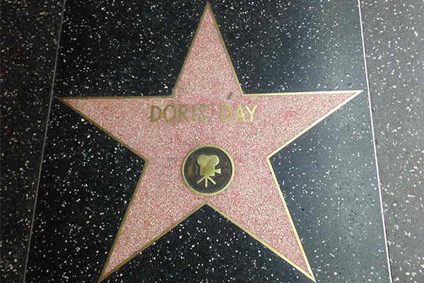 HER STAR ON THE WALK OF FAME