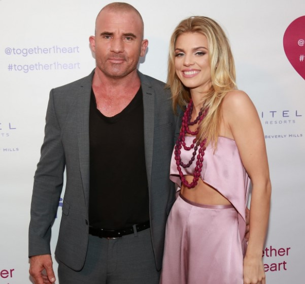 Dominic Purcell and AnnaLynne McCord