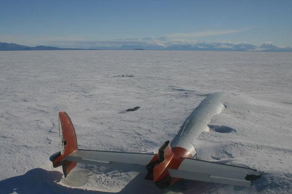 Pegasus Fields, Güney Antarktika