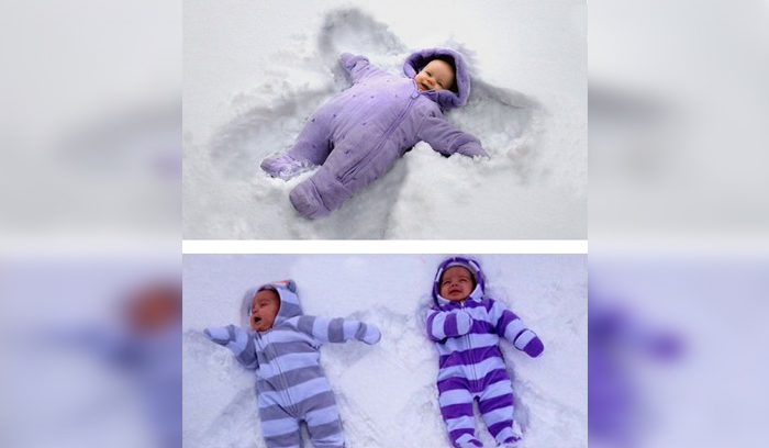 WE Don't Want To Make Snow Angels!