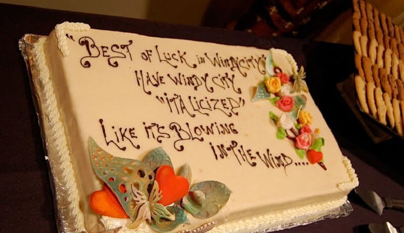 Why Ruin Such A Nice Cake?