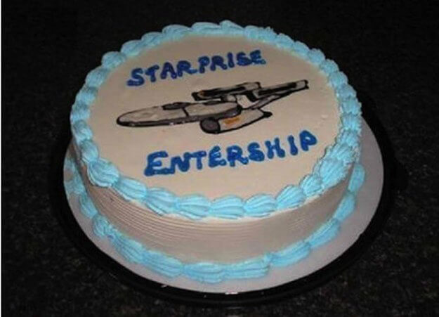 Are You Sure A Trekkie Designed This Cake?