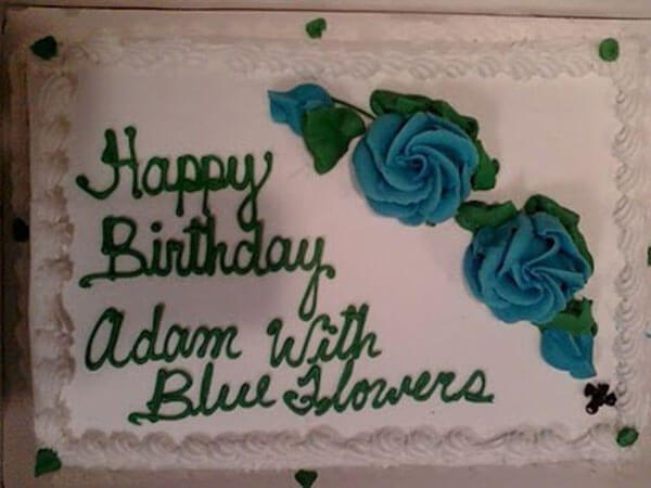 Adam And The Blue Flowers