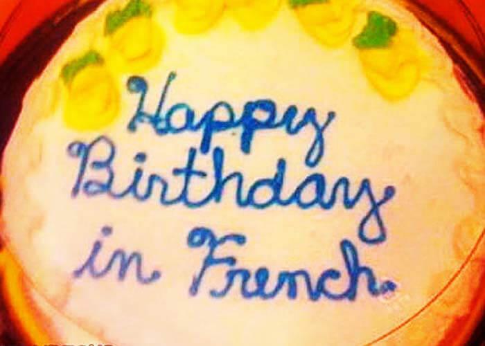 The Language Cake Fail