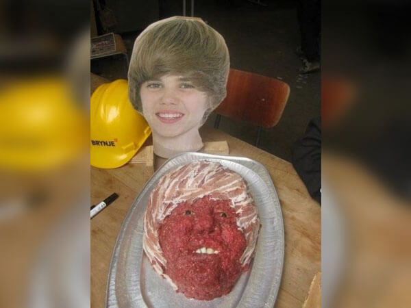 Why Does Justin Look Like That?