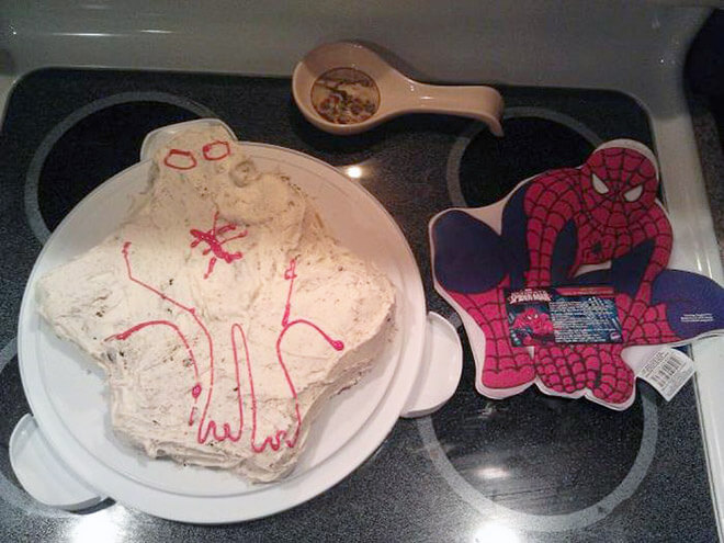 Are You Sure This Cake Is Spider-Man Inspired?