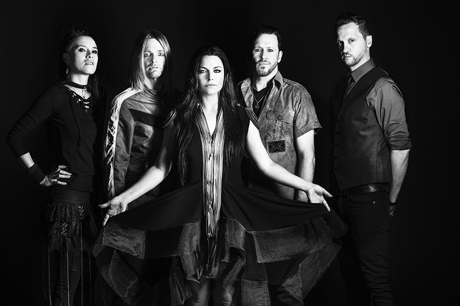 Amy Lee Leads Some Serious Guitar Chuggers