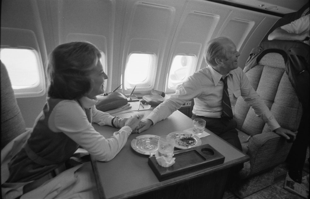 You Won't Believe What President Ford Smuggled Onto The Plane