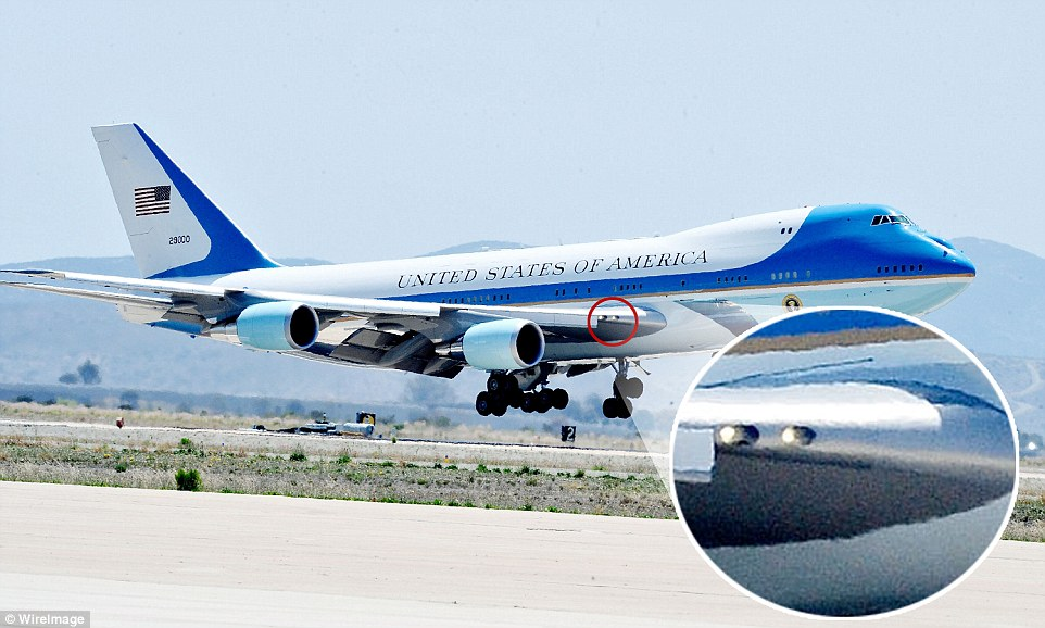 Air Force One Is Equipped With Spy Cameras