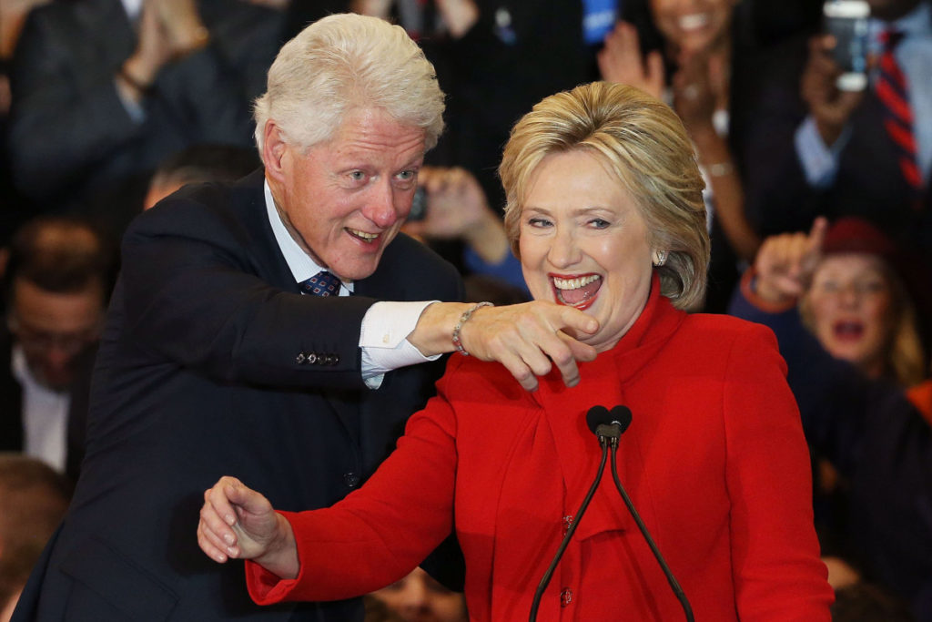 Bill & Hillary Clinton – $110m