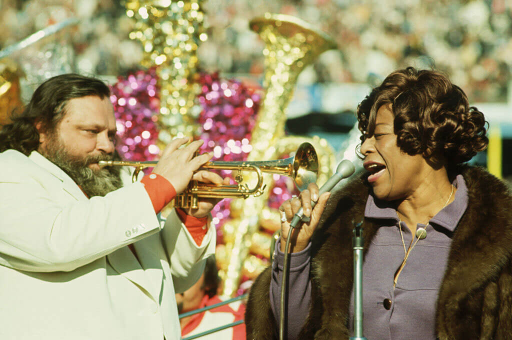 1972: Honoring Louis Armstrong