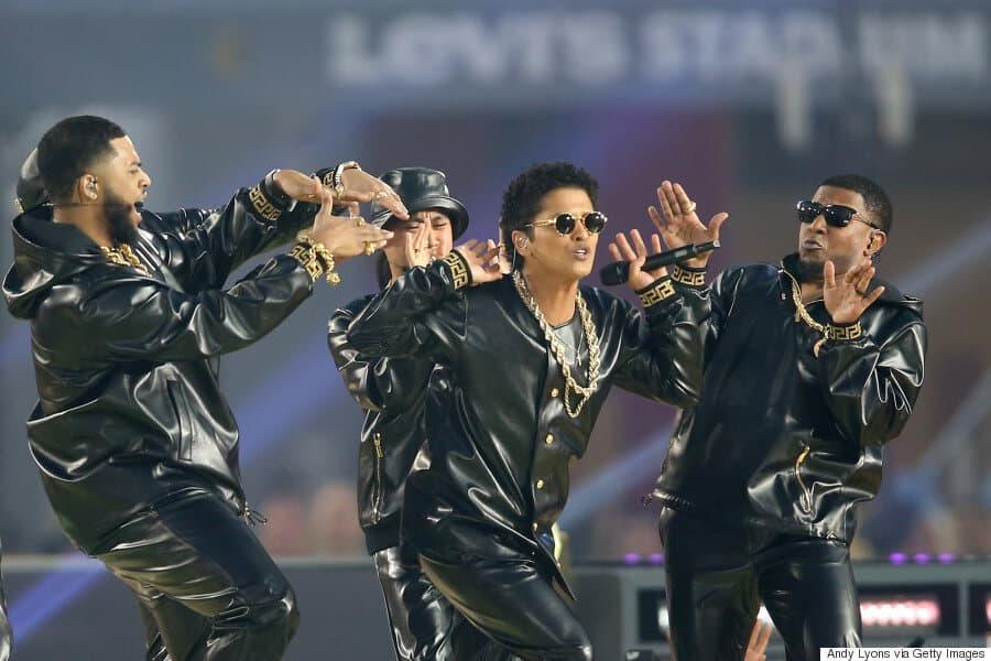 2016: Bruno Mars