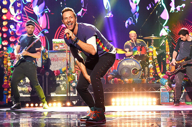 2016: Coldplay