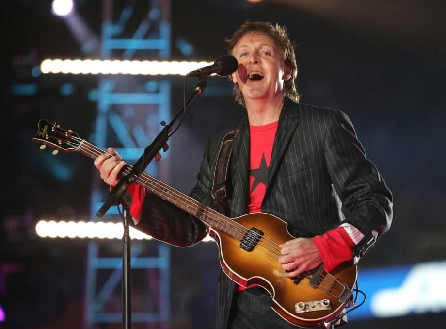2005: Paul McCartney