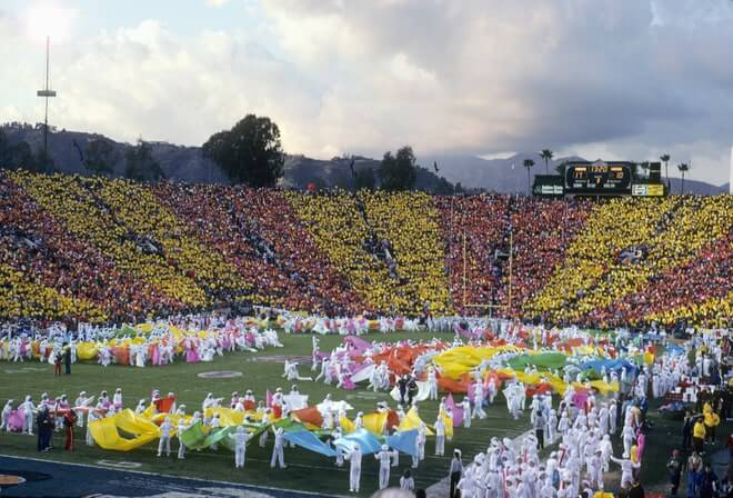1967 to 1989: The Halftime Shows