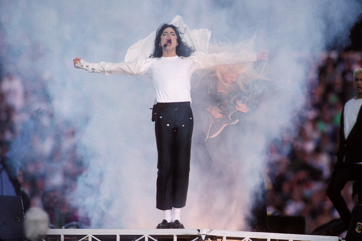 1993: Michael Jackson