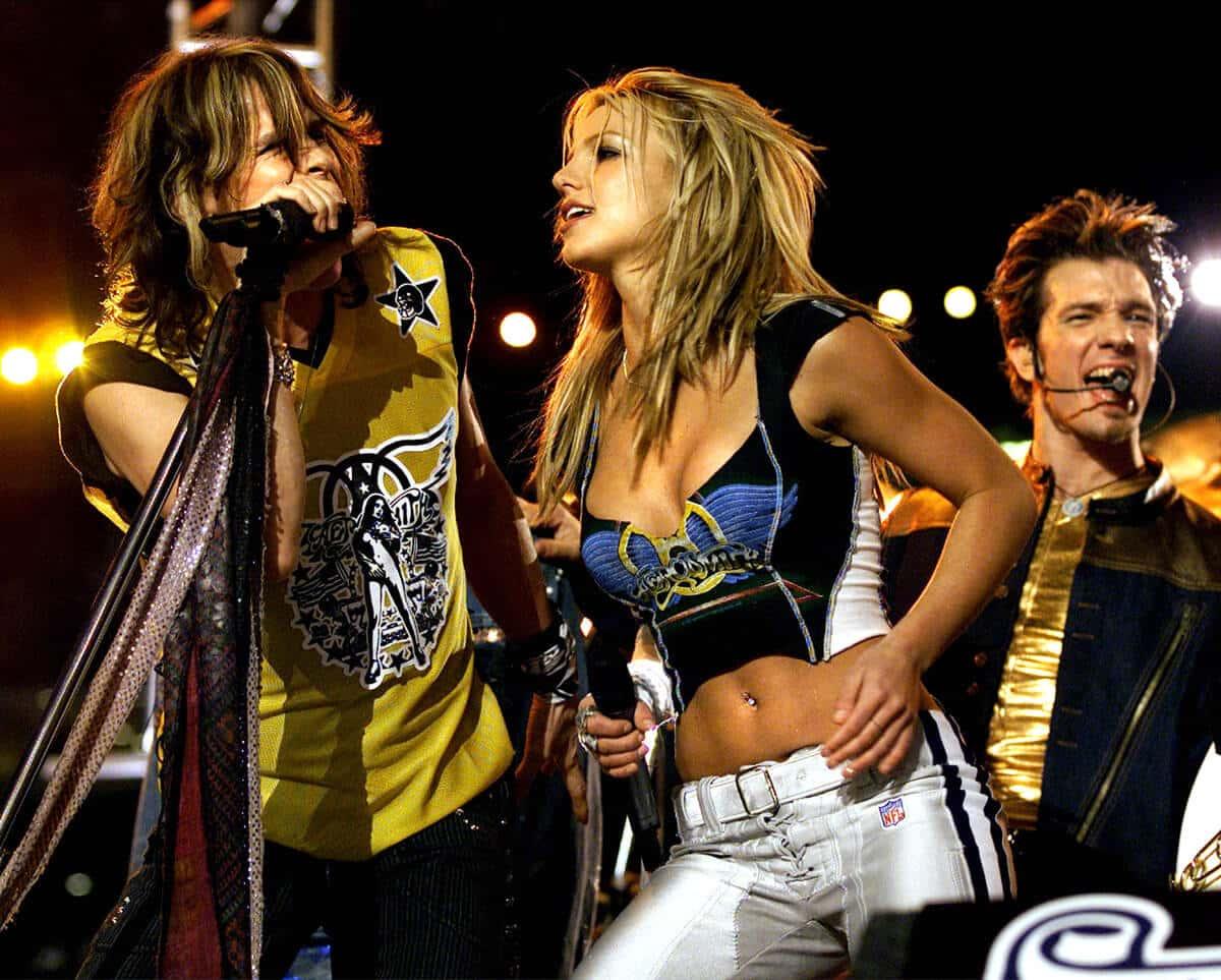 2001: Aerosmith, Britney Spears, Mary J. Blige, 'N Sync, Nelly