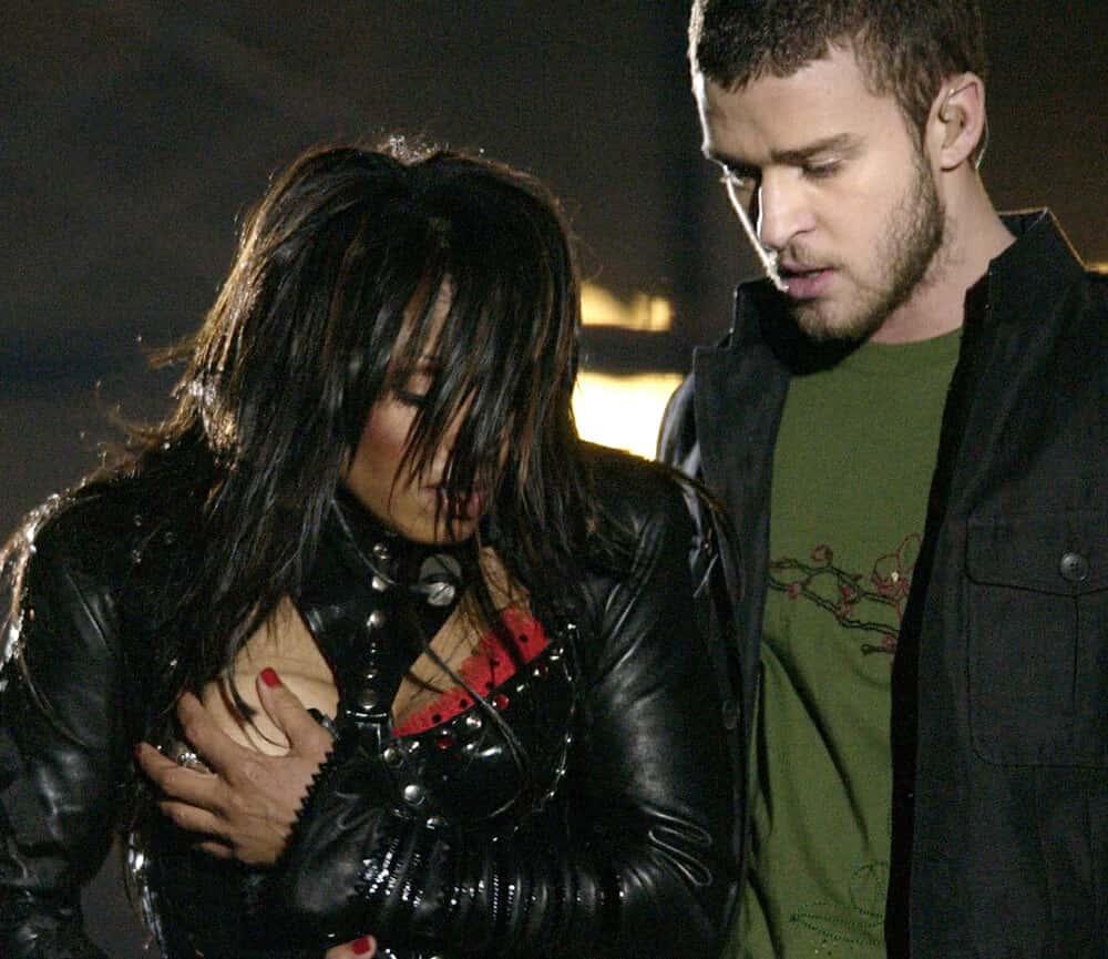 2004: Janet Jackson and Justin Timberlake