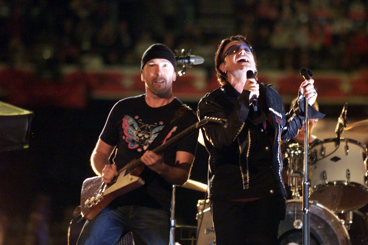 2002: U2