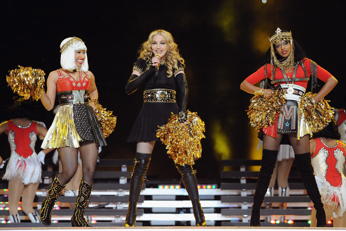 2012: Madonna