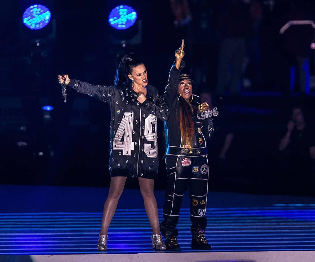 2015: Katy Perry and Missy Elliott