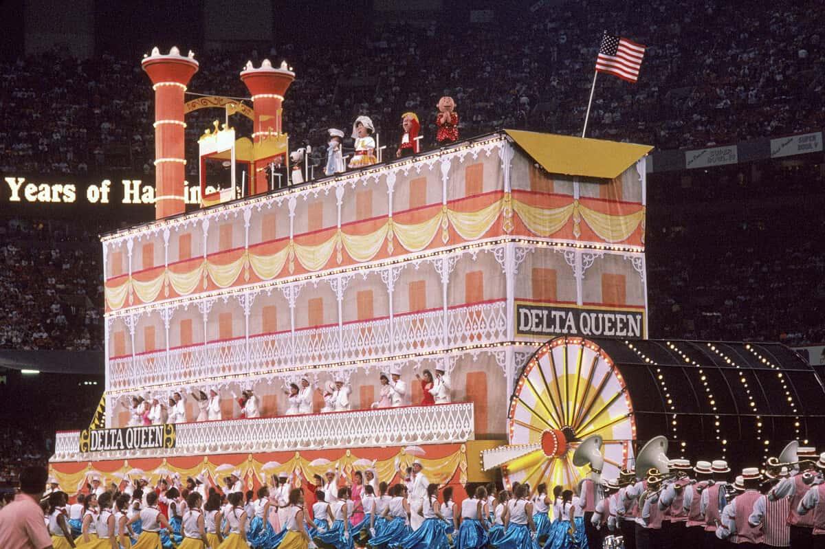 1990: Irma Thomas, Doug Kershaw, Pete Fountain, Snoopy