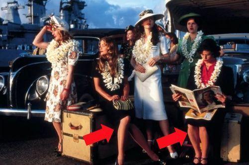 Pearl Harbor – Bare Legs Were Unacceptable