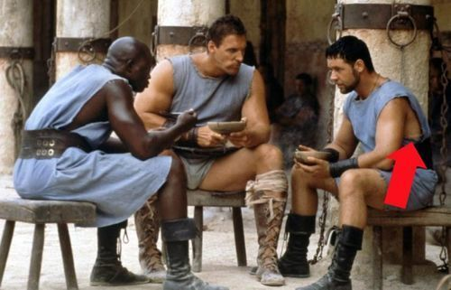 Gladiator – The Appearance Of Spandex Shorts