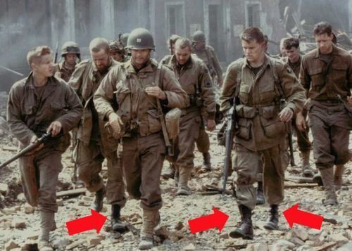 Saving Private Ryan - Wrong Boots For The Time