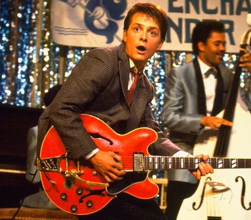 Back to the Future – Wrong Guitar
