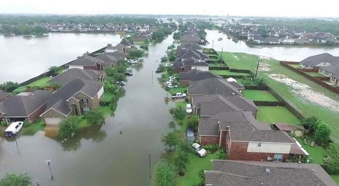 Havoc Of Hurricane Harvey