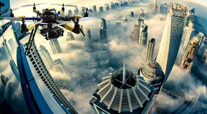 Dubai And Drones