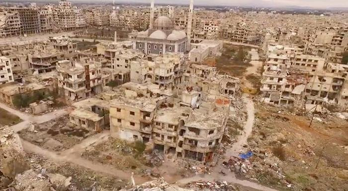 The Ruined City Of Homs