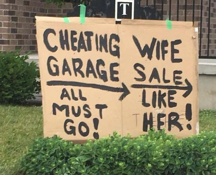 That's One Really Interesting Yard Sale!