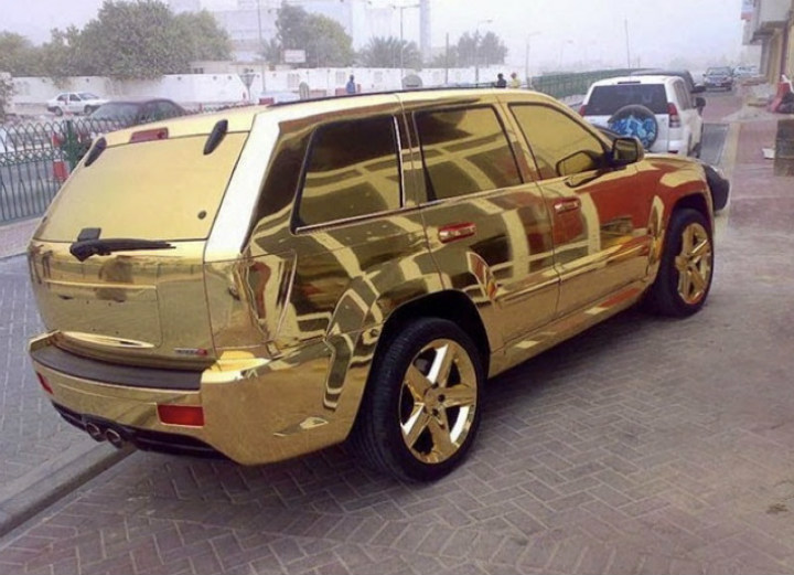 Gold-Plated Cars