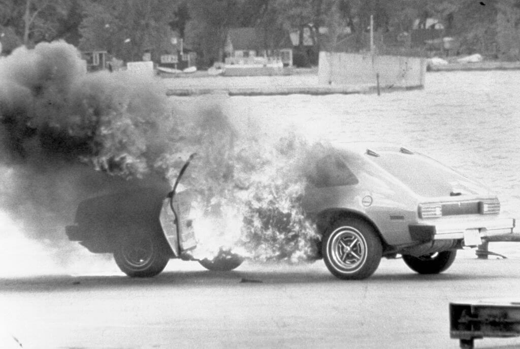 The Pinto Was A Problematic Car Known For Fires And Rear-End Collisions