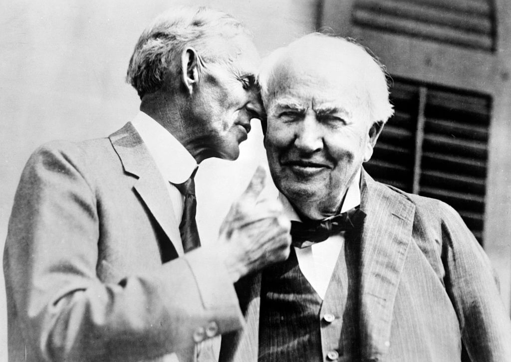 Ford Kept The Final Breath Of Thomas Edison Inside A Test Tube