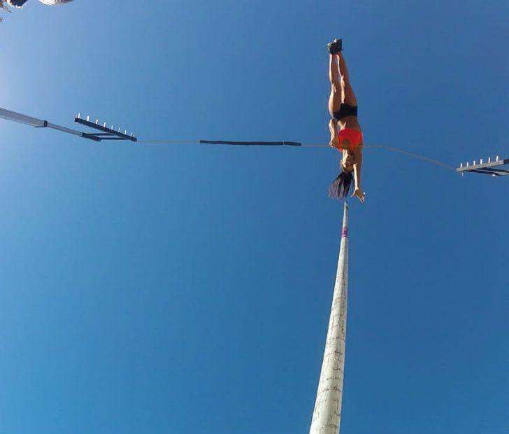 Paixão por salto com vara