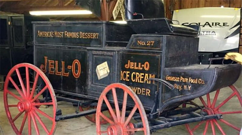 Paying $6,500 for An Original Jell-O Wagon