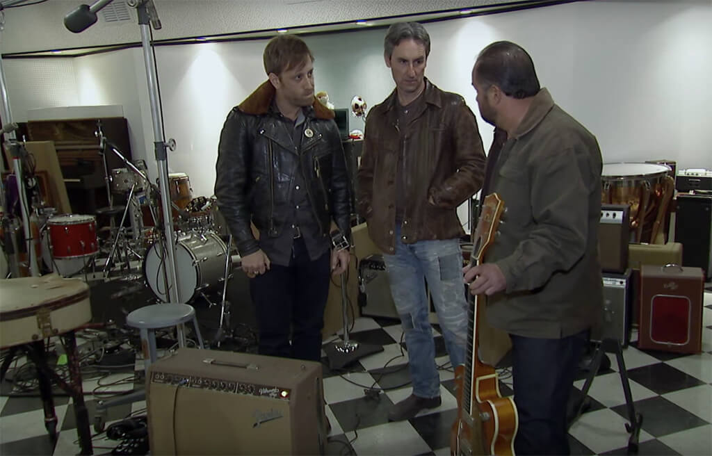 Dan Auerbach Of The Black Keys Got Chet Atkins Guitar