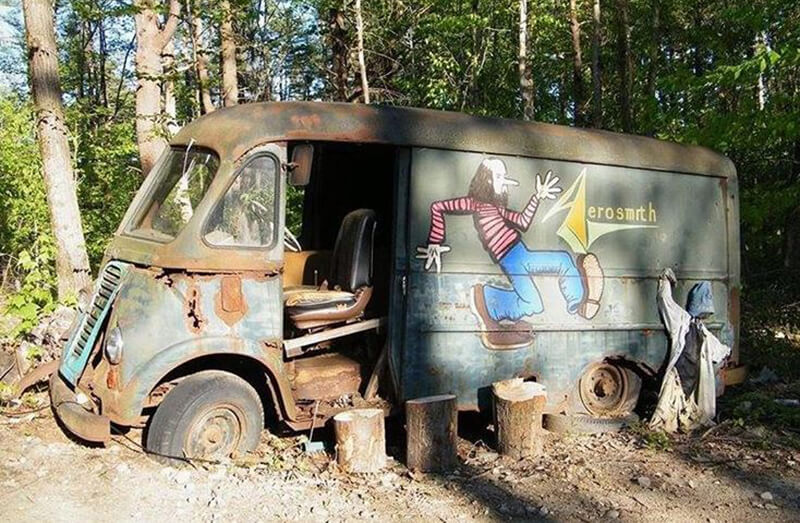 They Discovered Aerosmith's Van