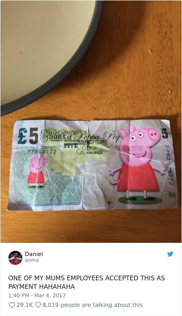 Peppa Pig Pesos
