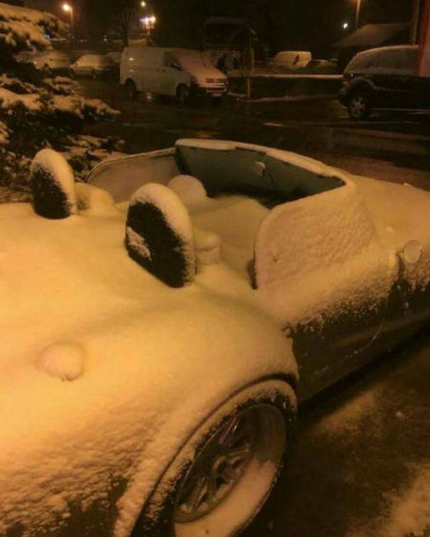Sudden Snowstorm