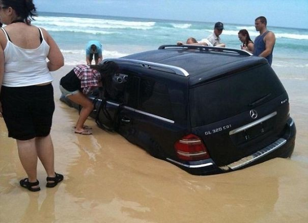 The SUV Is Sinking