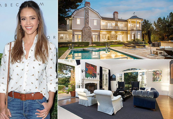 JESSICA ALBA – BEVERLY HILLS, $9.95 MILLION