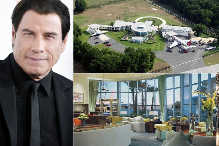 JOHN TRAVOLTA – FLORIDA, $12 MILLION