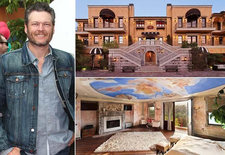BLAKE SHELTON – NASHVILLE, $3 MILLION