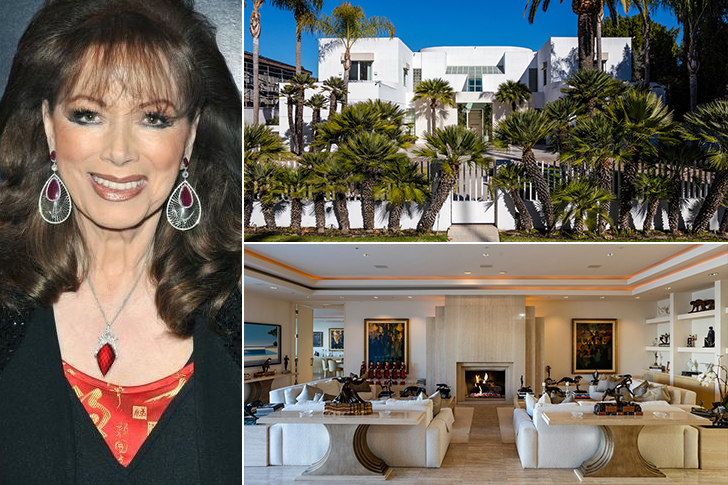 JACKIE COLLINS – BEVERLY HILLS, $30 MILLION