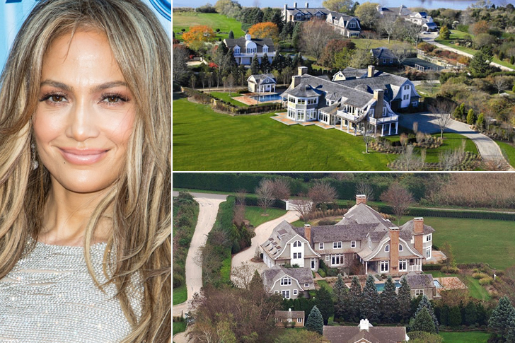 JENNIFER LOPEZ – HAMPTONS, $9.9 MILLION