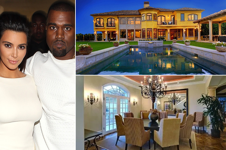 KIM & KANYE WEST – BEL AIR, $17 MILLION